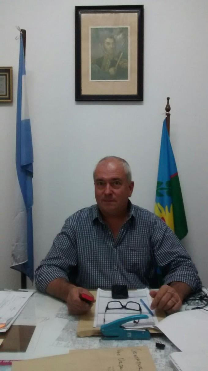 El Delegado Municipal,  Agustín Rodríguez, anticipó novedades para Urdampilleta