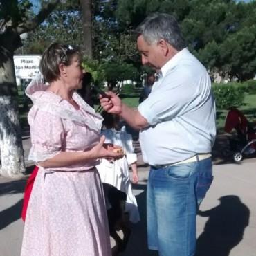 Movida Cultural por el Día de la Tradición en la Plaza San Martín