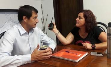 Bucca habló del presupuesto 2017, y la obra del gasoducto y red de gas en Pirovano