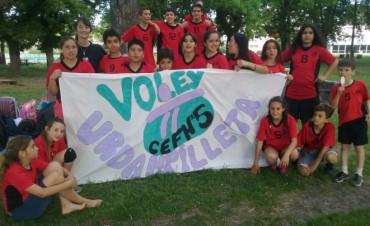 Encuentro Mini Voley: CEF Nº5 de Urdampilleta compitió en el Club Estudiantes de Olavarría