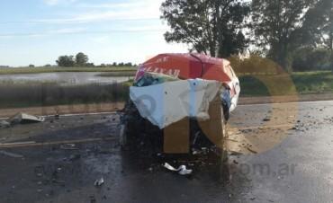 URGENTE: Accidente en ruta 226 dejó un muerto y dos heridos; uno de ellos es urdampilletense