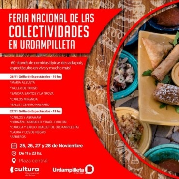 Fiesta Nacional de las Colectividades en Urdampilleta
