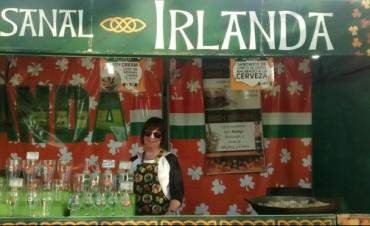 Irlanda presente en la Feria de las Colectividades en Urdampilleta