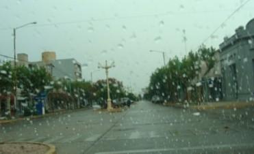 20mm en promedio la lluvia de este sábado