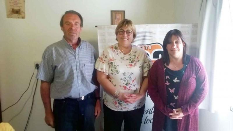 Los Concejales de Bucca visitaron Radio Urdampilleta