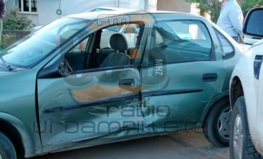 Accidente en calles Pellegrini y Avellaneda: Uno de los conductores fue hospitalizado para control