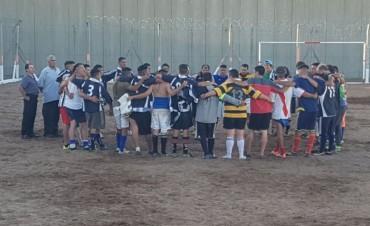 Importante jornada de rugby en el campo de deportes de la Unidad Nº17
