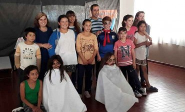 Centro 803: Se realizó una jornada de Teatro Infantil