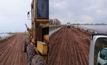 Urgente: Quedó habilitado el camino Urdampilleta-Pirovano