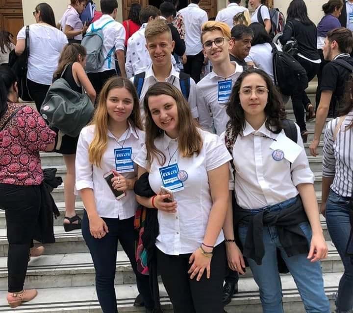 Alumnos de la ESU N.º 3 participaron de la instancia final del Buenos Aires Debate