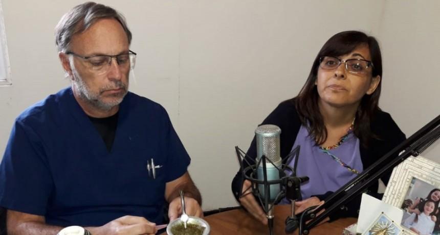 Cynthia Scheffer comenzó con sus funciones de acompañante terapéutica en el hospital Juana G de Miguens