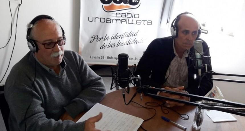 Pirovanenses presentaron el libro 'Por la senda del Recuerdo' en Radio Urdampilleta