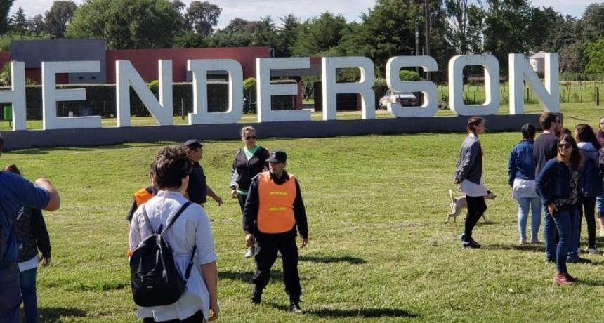 Henderson celebro su 109 aniversario con un gran acto en el acceso a la ciudad