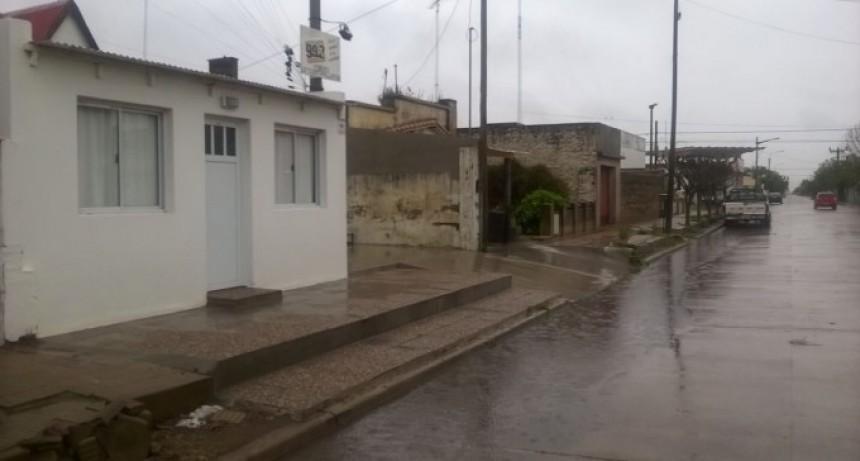 Registros de lluvias caídos desde  ésta madrugada