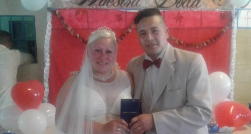 Casamiento en la Unidad Nº17