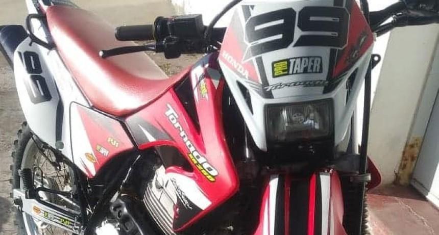 Se robaron una motocicleta en plena madrugada