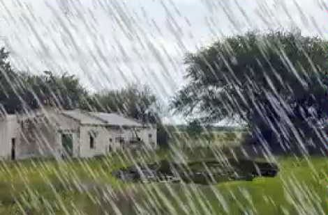 Hasta 38 MM se registraron en la localidad y la zona tras la lluvia de esta madrugada