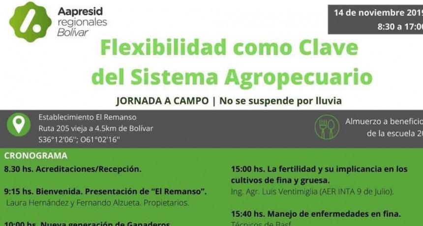 AAPRESID Regional Bolívar organiza una gran Jornada a Campo