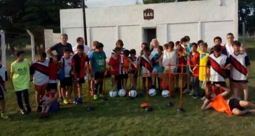 El Rotary Club Urdampilleta hizo una importante donación a instituciones deportivas