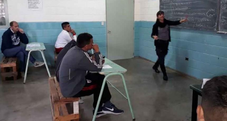 Se dictó un taller de Ciudadanía e Inclusión Socio Laboral en la Unidad 38