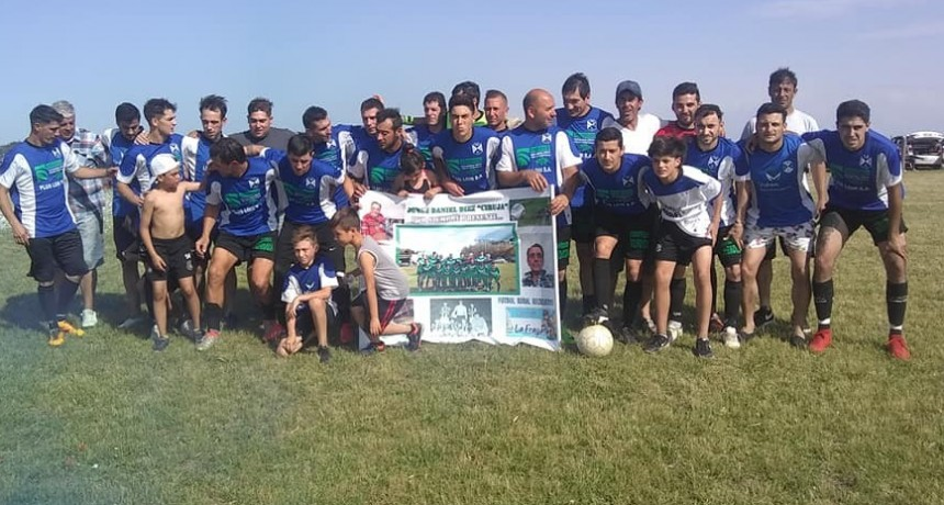 Agrario se coronó campeón del año en el Fútbol Rural Recreativo