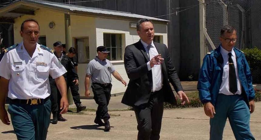 El Jefe del Servicio Penitenciario visitó la Unidad N°17 de Urdampilleta