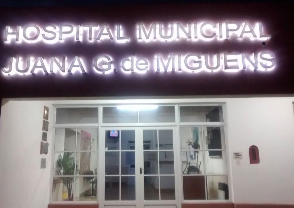 Un joven se accidentó en su moto y fue derivado a Bolívar