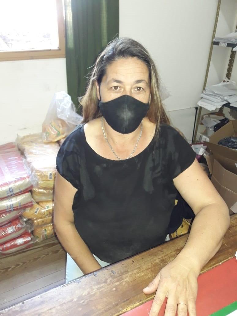 """Andrea Montenegro: """"Este mes estamos entregando la mercadería en nuestra oficina"""""""