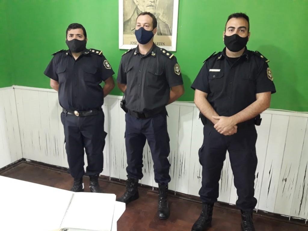 Asumió Gabriel Santos a cargo de la Subcomisaría de Urdampilleta