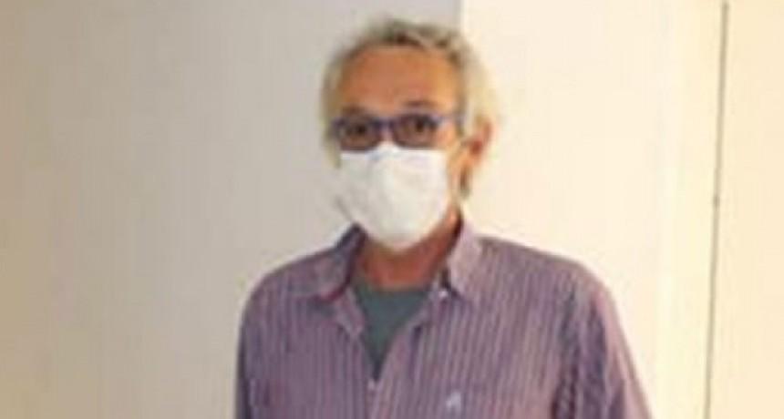 """Dr. Fabián Marina: """"Se hisoparon tres casos sospechosos, de los cuales dos resultaron positivos"""""""