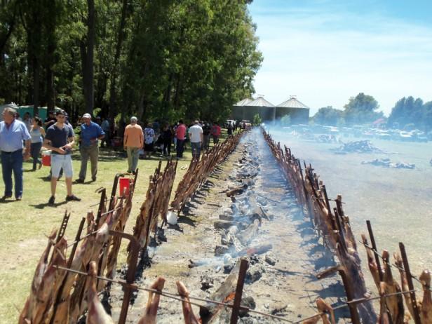 Arboledas recibió a más de 5000 personas y fue una fiesta Nacional del Cordero