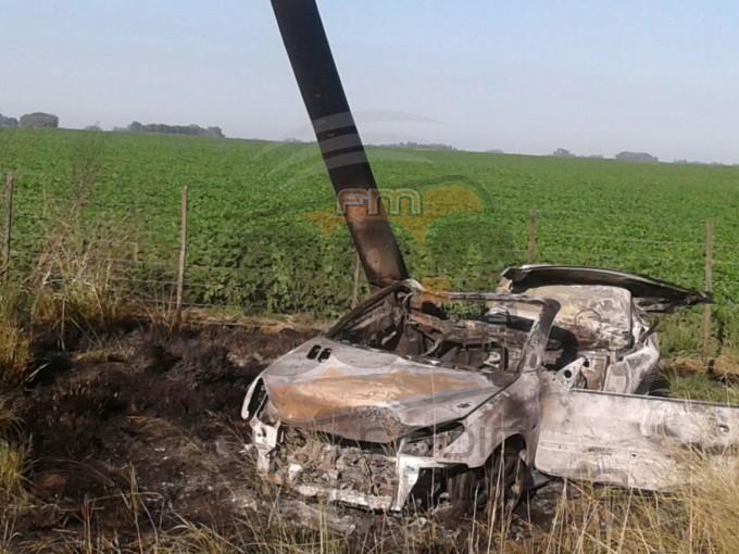 Urgente: Grave accidente en el acceso de Urdampilleta