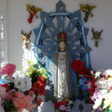 Peregrinacion en el Día de la Inmaculada Concepción de la Virgen María