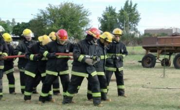 Tres incendios en zona rural que mantuvieron activo al Cuartel de Urdampilleta este lunes