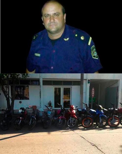 Allanamientos por secuestro de motos y drogas ilícitas