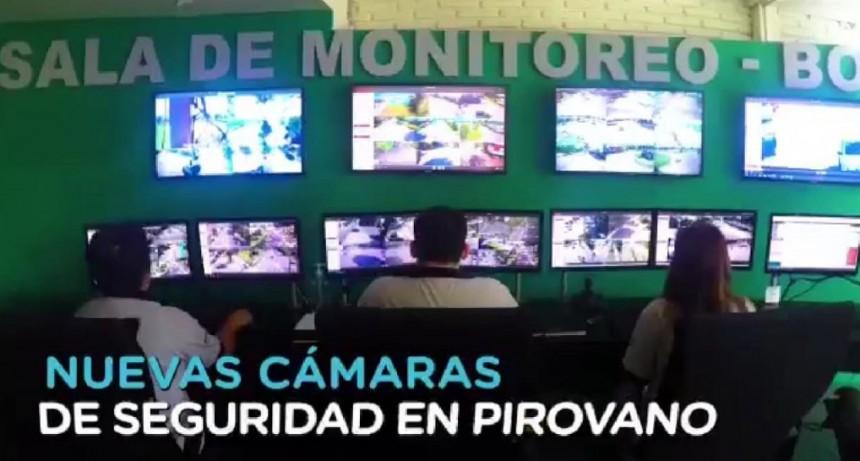 Más tecnología en seguridad para Pirovano