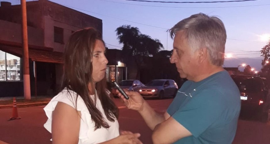 Estefanía Doorish: 'Urdampilleta sigue creciendo y la gente acompaña'