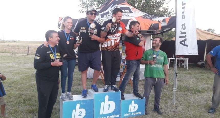 El Rally Raid hizo rugir sus motores en Urdampilleta