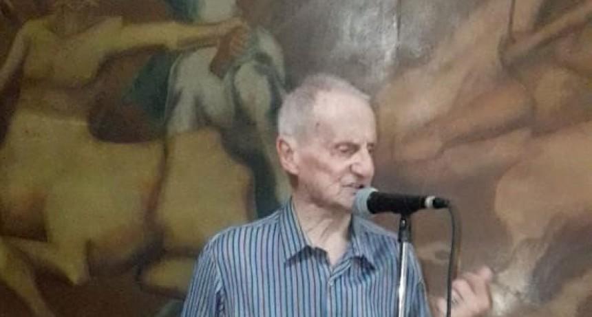 Aroldo Caldara fue reconocido por su aporte cultural a la comunidad