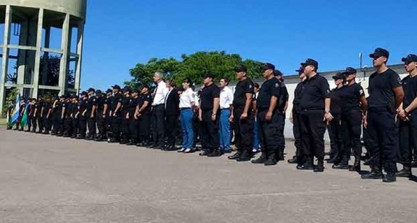 Más de 200 agentes penitenciarios recibieron su ascenso
