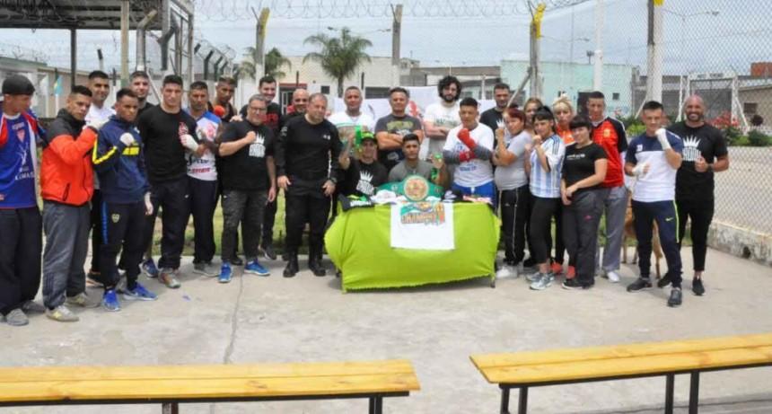 """Torneo """"WBC-Boxeo Sin Cadenas""""; Se presentó el primer torneo oficial en cárceles"""