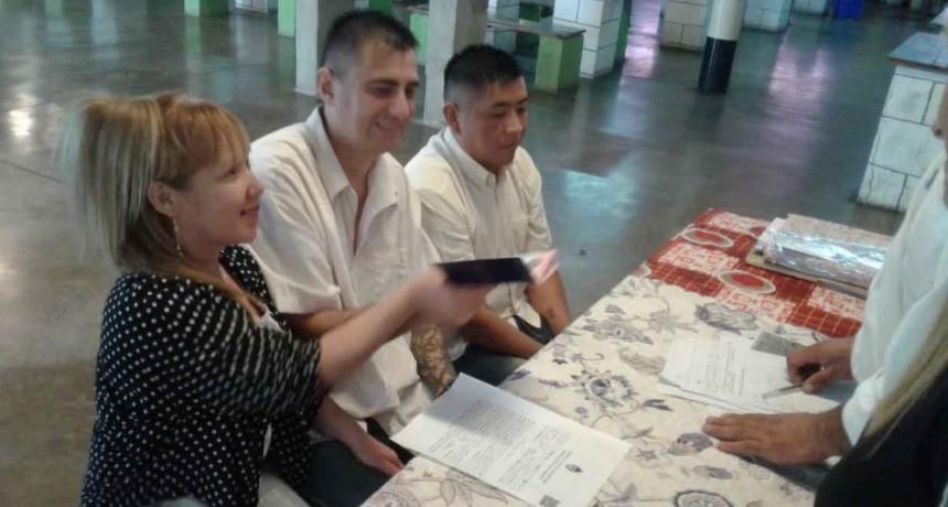 Casamientos en Unidades Penales del Complejo Centro Zona Sur