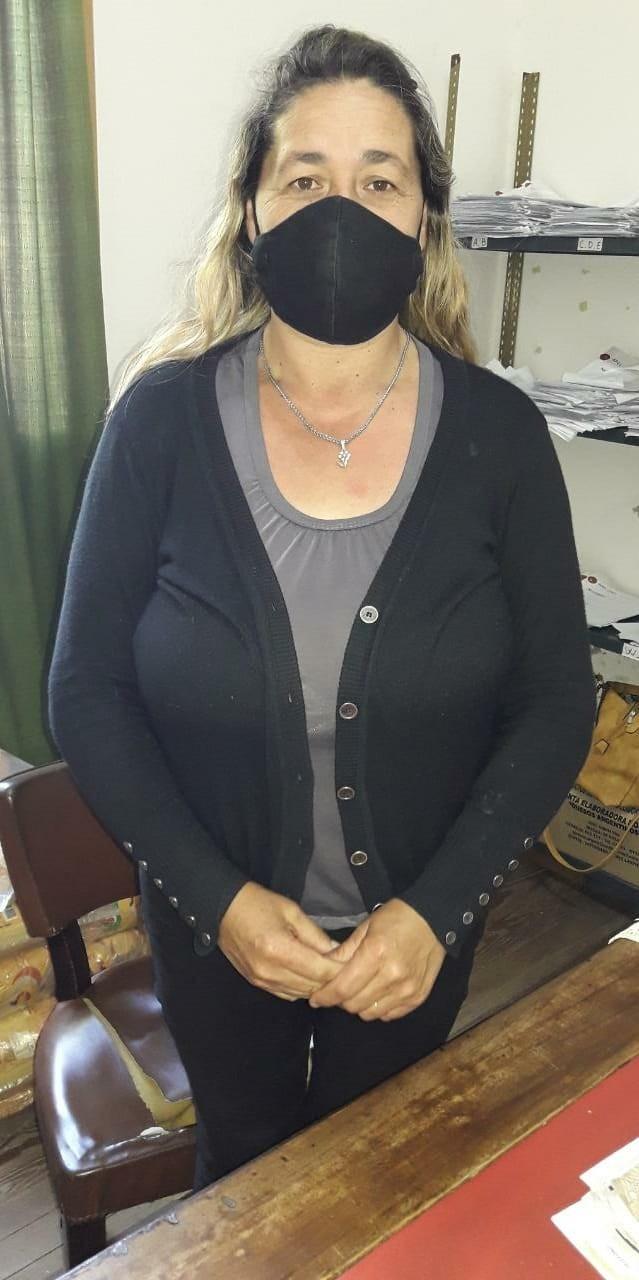 """Andrea Montenegro: """"La entrega de mercadería estaba pausada por prevención, debido al aumento de casos de COVID19"""