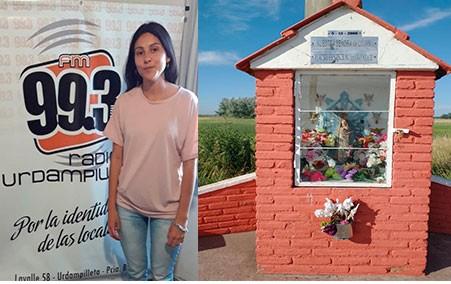 """Micaela Chiminella: """"Yo a la Virgen siempre le agradezco la salud de mi familia; el amor; el trabajo y el fin del COVID19"""""""