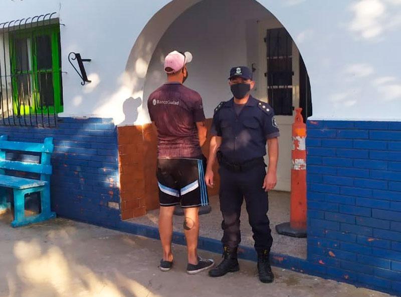Aprehendieron en Recalde a un hombre con pedido de captura
