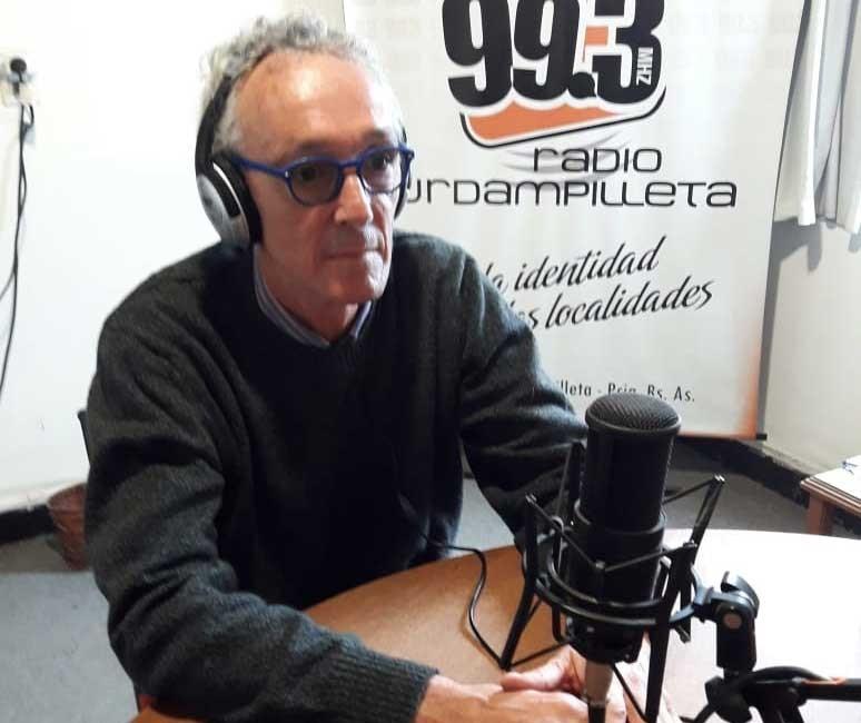 """Doctor Fabián Marina: """"Le pedimos a la gente que llamamos por contacto estrecho que entiendan que nos lleva mucho tiempo construir la huella epidemiológica y eso genera que nos comuniquemos tarde a la noche"""""""