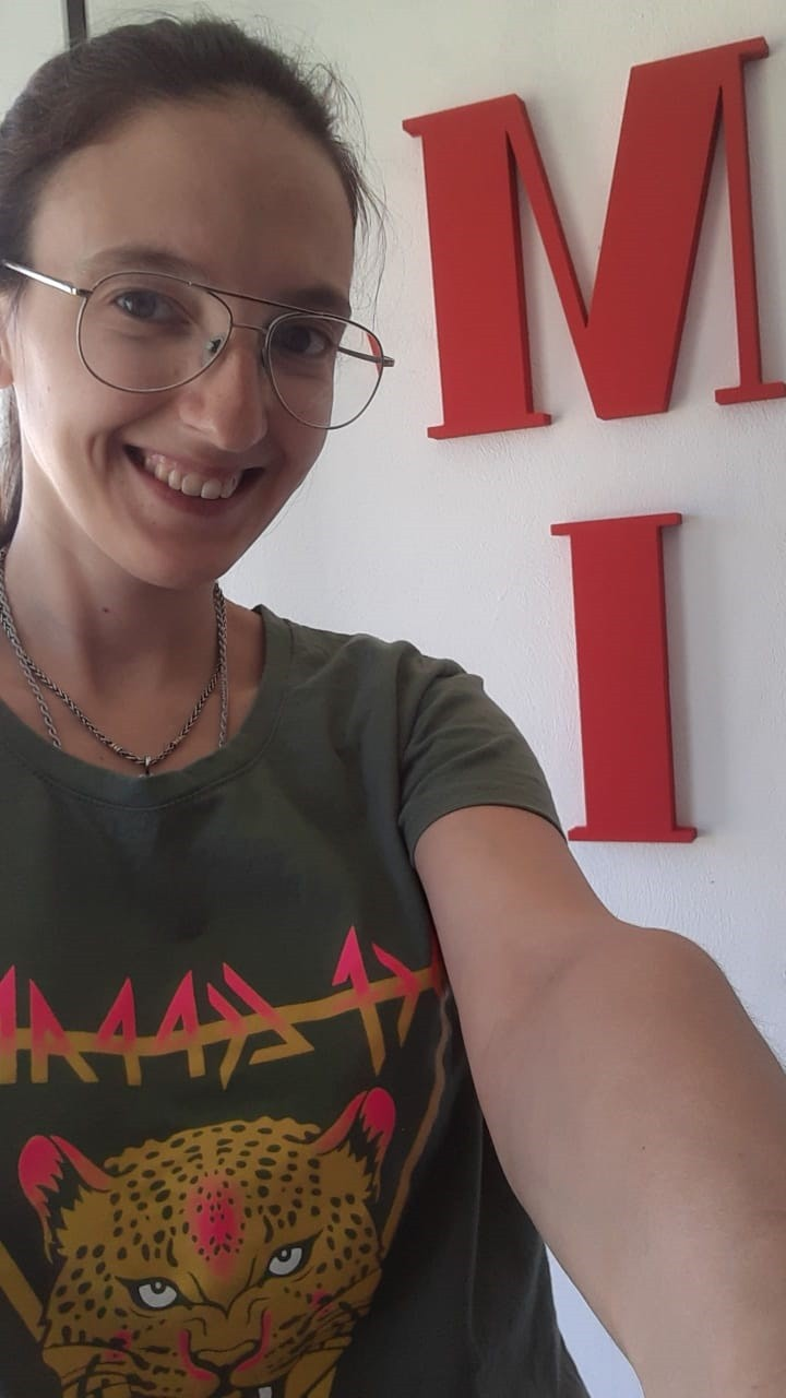 """Melina Infantas (Inquieta Modas): """"No se llama así por la marca, sino porque realmente la moda nunca se queda quieta y además el nombre forma mis iniciales"""""""