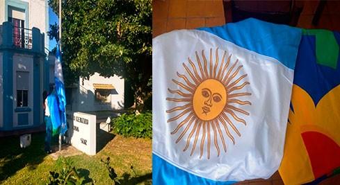 Donaron banderas al Complejo Penitenciario Centro Zona Sur